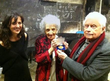 Consegna Medaglia del Presidente della Repubblica a Luigi Di Gianni