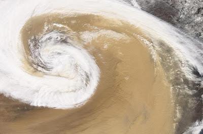 Dust Storm - China (April 2001)