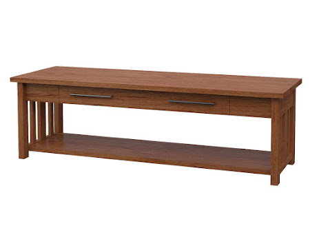 Syracuse Coffee Table in Vermont Maple