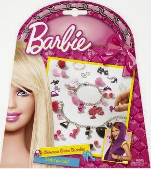 Hạt trang sức cô nàng Barbie Totum được đựng trong hộp kín xinh xắn