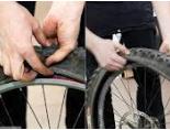 как снять покрышку с велосипеда