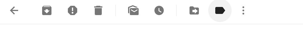 Gmail menu bar