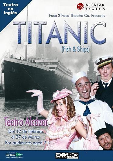 Titanic Fish and ships en el Teatro Alcazar