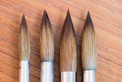 Rosemary Reversible Travel Watercolour Brushes