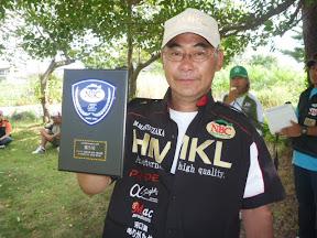 第5位 松坂誠選手 表彰2
