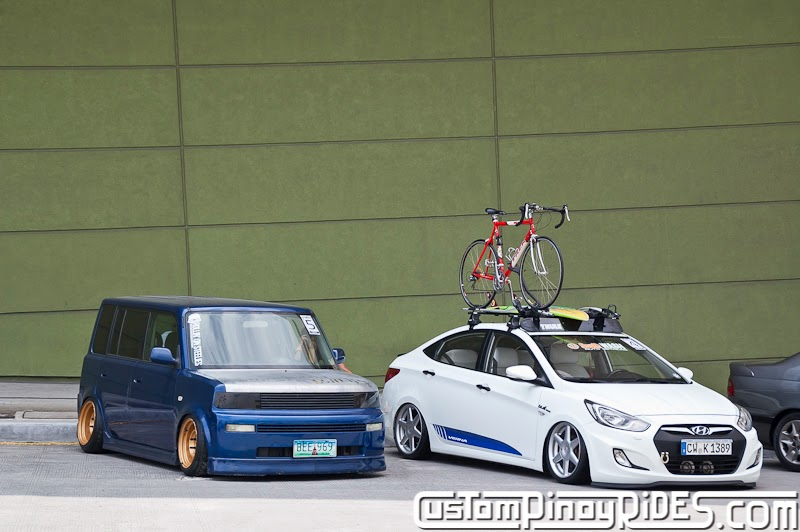 Toyota Bb Static Hyundai Accent Bagged Air Suspension Custom Pinoy Rides Car Photography Manila Philippines