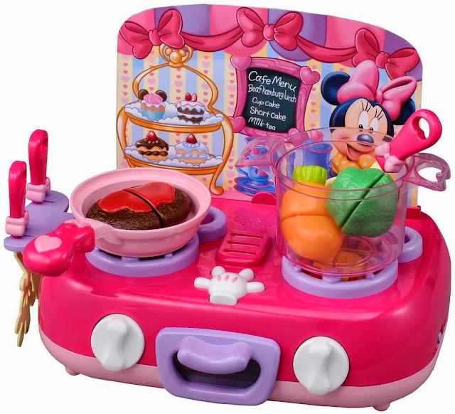 Bộ đồ chơi nấu bếp cùng chuột Minnie