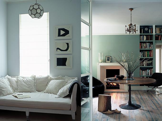 Keuken Grijs Groen : Kleurenpalet: Groen villa d'Esta interieur en wonen
