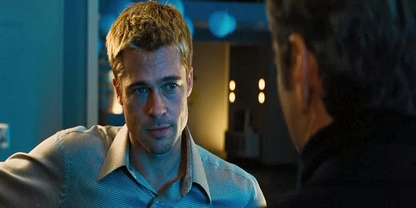 Screen Shot Of Hollywood Movie Ocean's Eleven (2001) In Hindi English Full Movie Free Download And Watch Online at alldownloads4u.com