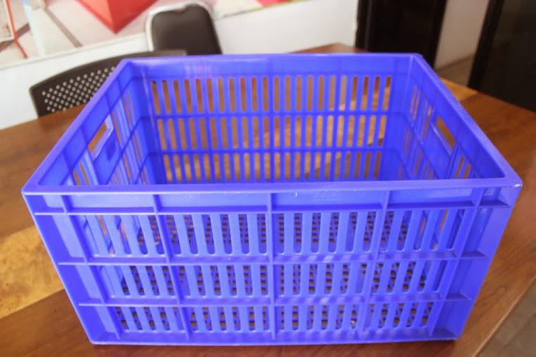 JUAL KERANJANG KONTAINER PLASTIK LOBANG TIPE 2231 L | Green Leaf | www.rajarakminimarket.com | RAJA RAK INDONESIA | JAKARTA