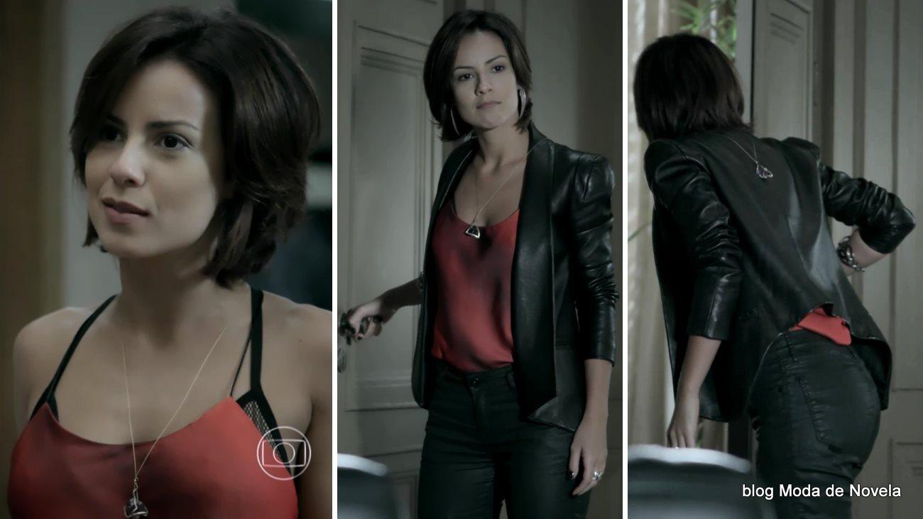 moda da novela Império, look da Maria Clara dia 20 de novembro