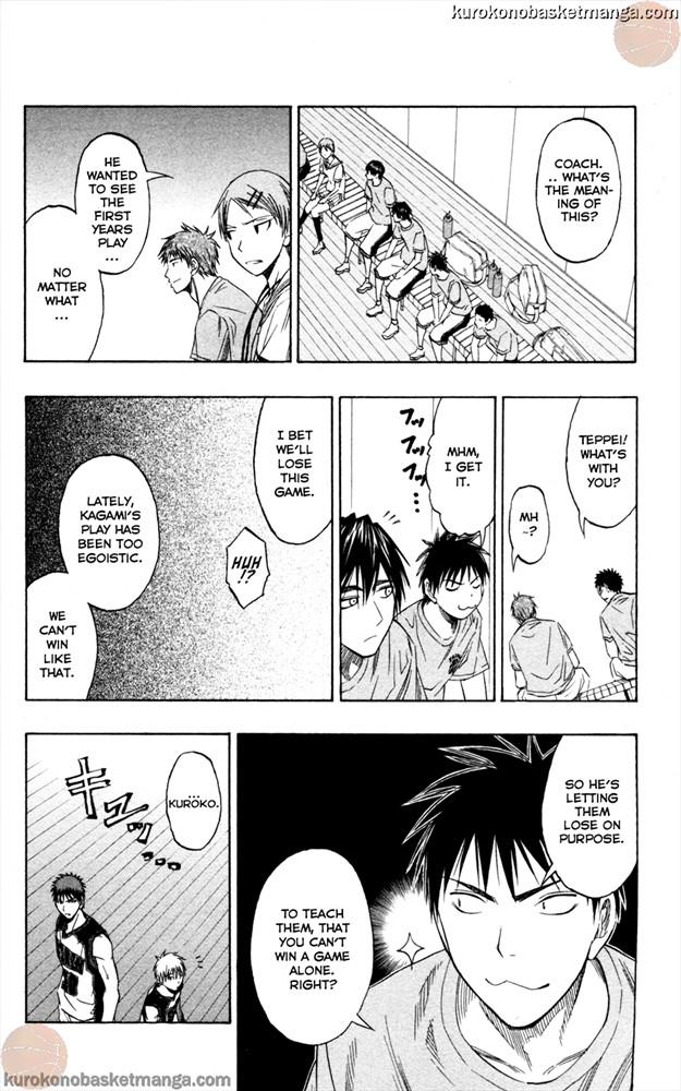 Kuroko no Basket Manga Chapter 56 - Image 04