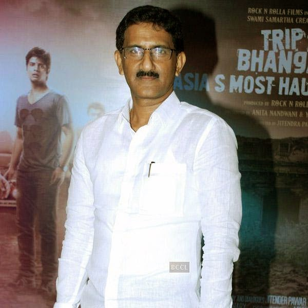 A guest during the music launch of Bollywood movie Trip to Bhangarh, held at Time N Again on July 28, 2014.(Pic: Viral Bhayani)