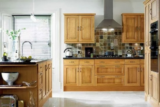 oak cabinets for  kitchen paint colors