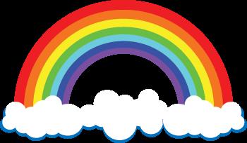Coloriage Darc En Ciel En Ligne.Arc En Ciel Dessin A Colorier