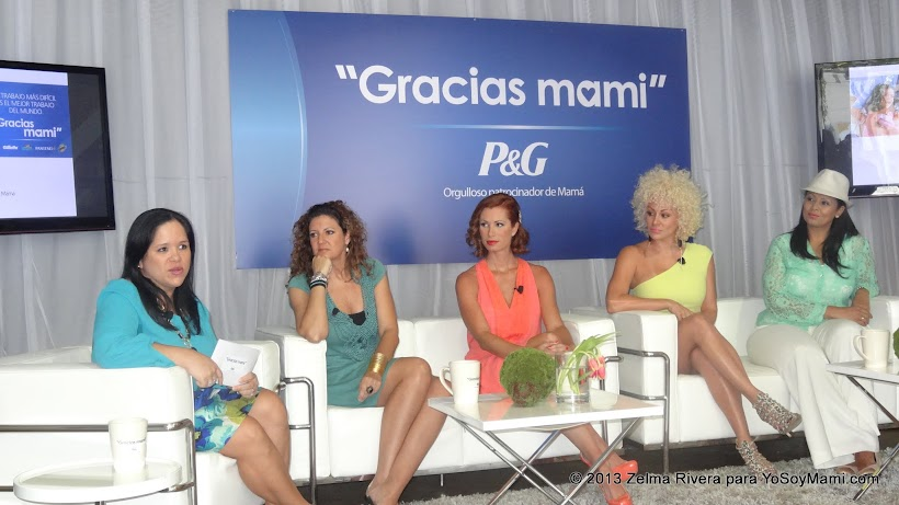 Anelsie Ramos de P&G, Patricia de la Torre, Desirée Lowry, Angelique