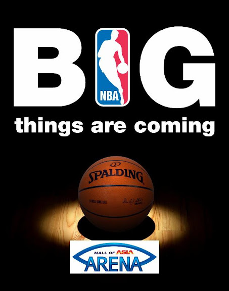 SM MOA Arena Philippines are Coming NBA Games SM MOA Arena Philippines