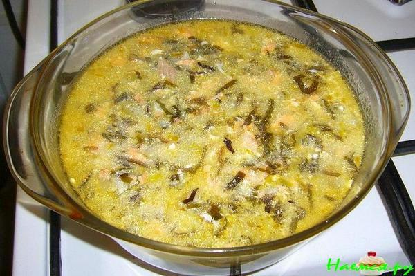 Рецепты для ленивых, морской суп