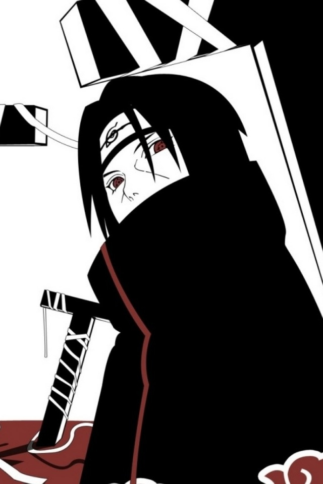 Anime Best Images Itachi Iphone Wallpaper