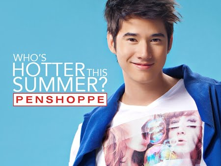 Mario Maurer Billboard for Penshoppe