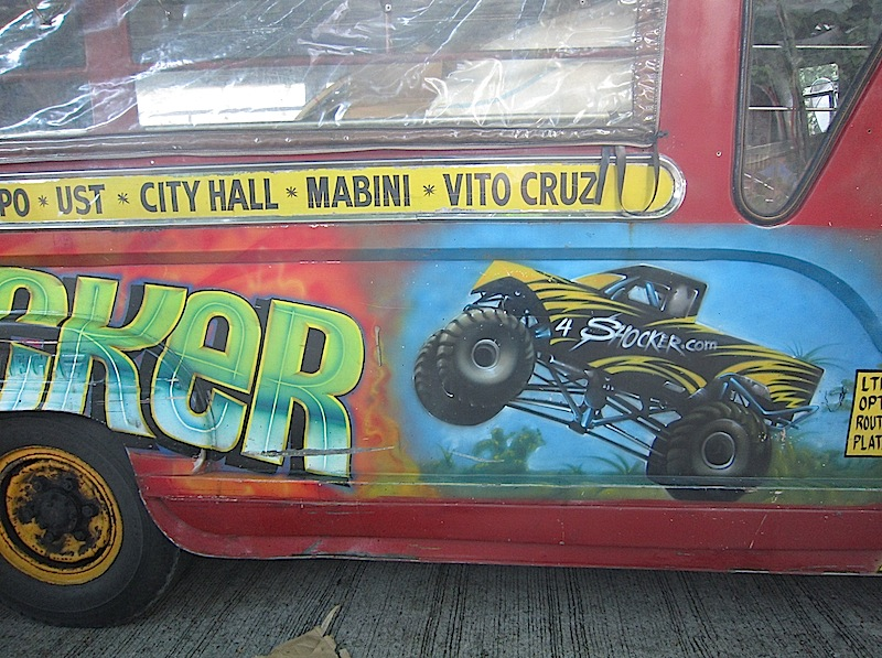 painted jeepney