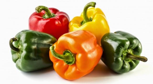 Peperoni frutta e verdura di stagione ricetta blog cucina A pummarola 'ncoppa