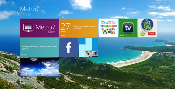 Metro UI en Windows 7