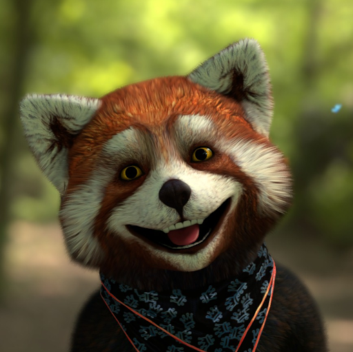 Mysterious Red Panda