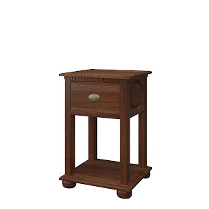 Valencia Nightstand with Shelf