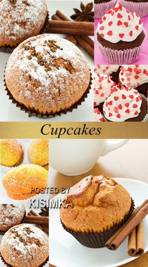 Stock Photo: Cupcakes