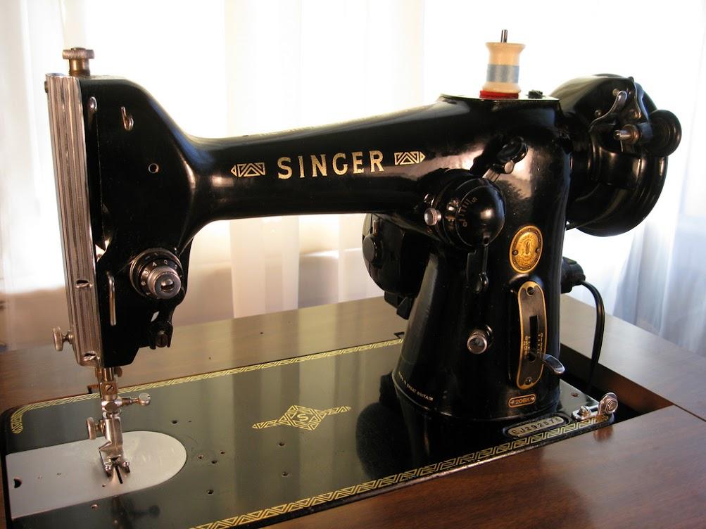 Model 206 Singer Restoration Decals