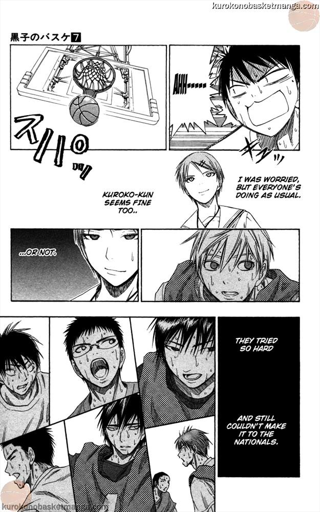 Kuroko no Basket Manga Chapter 53 - Image 0/015