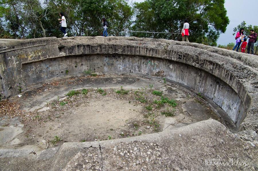 大砲台遺址