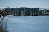 Reykjavik rådhus ved Tjörnin søen