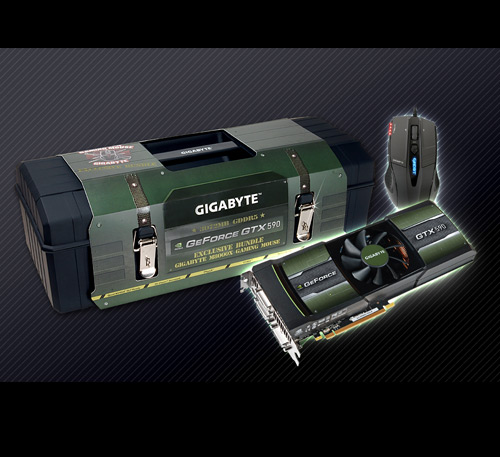 Gigabyte NVIDIA GeForce GTX 590 GV-N590D5-3GD-B
