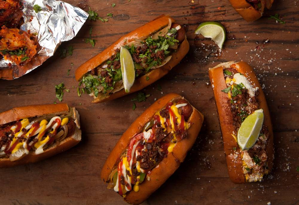Customers love to eat at Dirt Dog, serving three of their best hot dogs for cheap prices at their locations in Las Vegas.