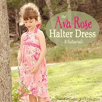 Ava Rose Halter Dress Tutorial