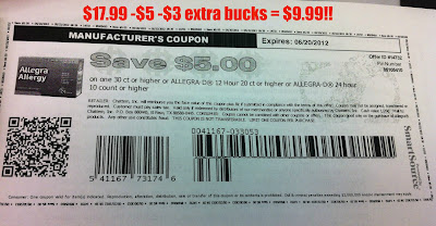 Allegra coupon