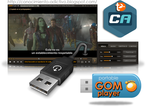 GOMPlayer Portable Español 2.2.67.5221