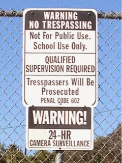 warning sign middle school celiac poway