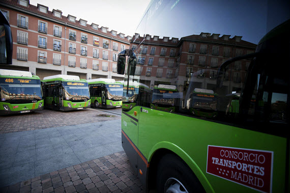 Cambio de paradas de autobuses urbanos de Alcalá de Henares