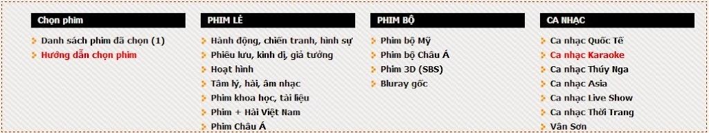 Chép phim HD, 3D chất lượng cao nhất, giá rẻ nhất tại Hà Nội - 1