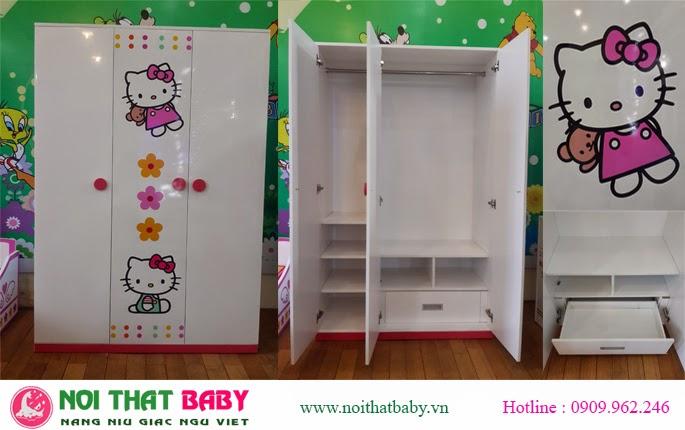 phòng ngủ kitty