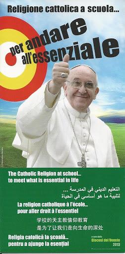 Religione cattolica a scuola... per andare all'essenziale