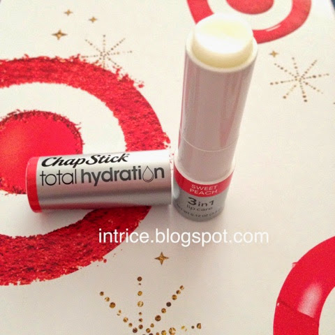 ChapStick Total Hydration Lip Care in Sweet Peach - photo credit: intrice.blogspot.com