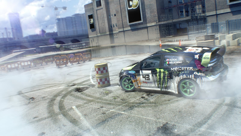 Dirt 3 Gymkhana Tilt Shift