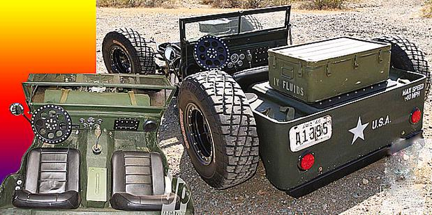 Hot Rod War Jeep Modification