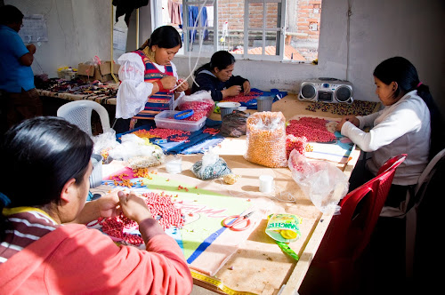 Nancy and Carlos' Ecuadorian Jewelry Workshop