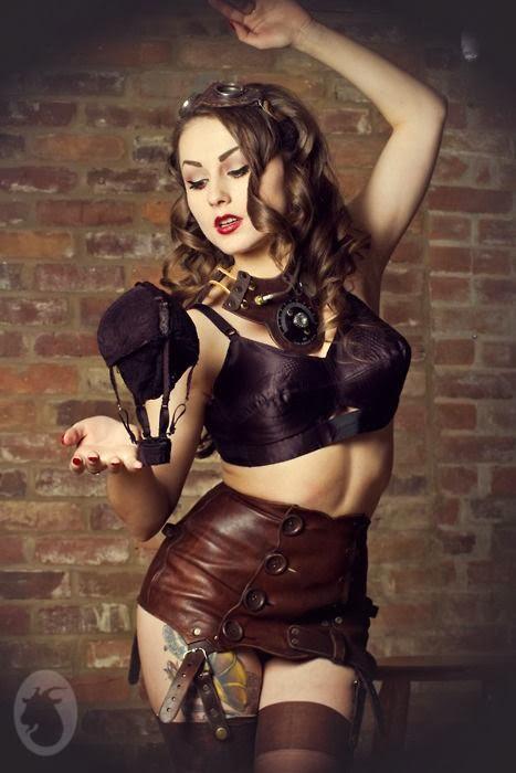Sexy Steampunk Girl 31