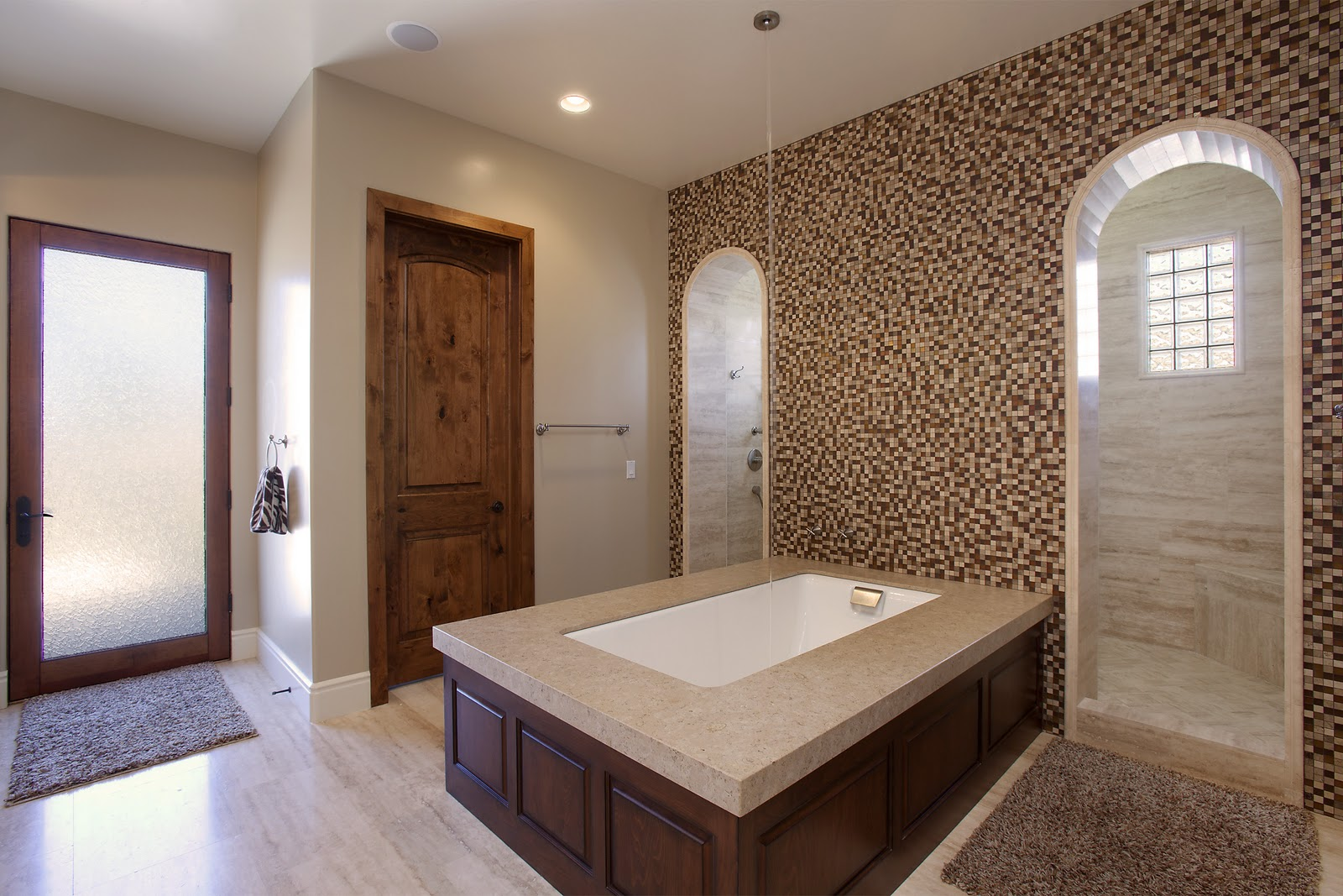 Mdd homes custom designed bathrooms for Types of walk in showers